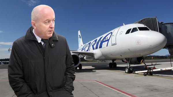 Rastoderjeva namera za oživitev letalskih dovoljenj Adrie Airways dokončno umrla