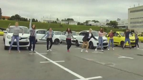 (video) Revozovci plesno proslavili začetek proizvodnje novega twinga