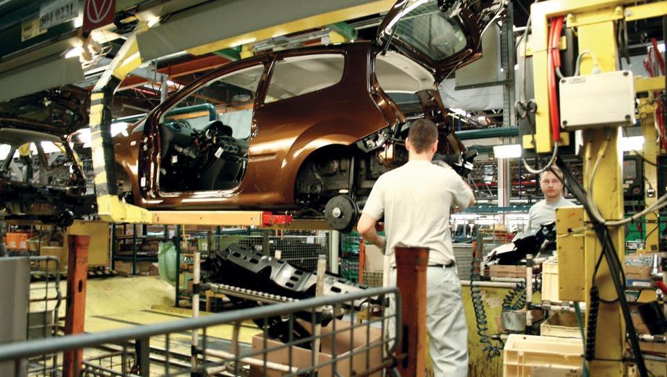 Revoz lani proizvedel najmanj vozil po letu 1996