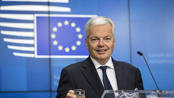 Komisar Reynders napoveduje: Mehanizem pogojevanja sredstev EU bomo sprožili v kratkem