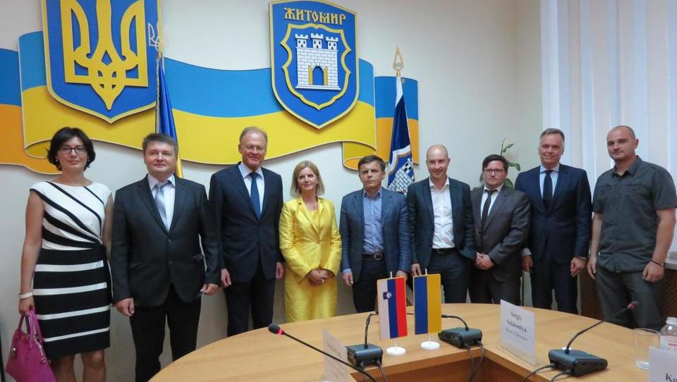 Riko v Ukrajini podpisal za 25,4 milijona evrov pogodb