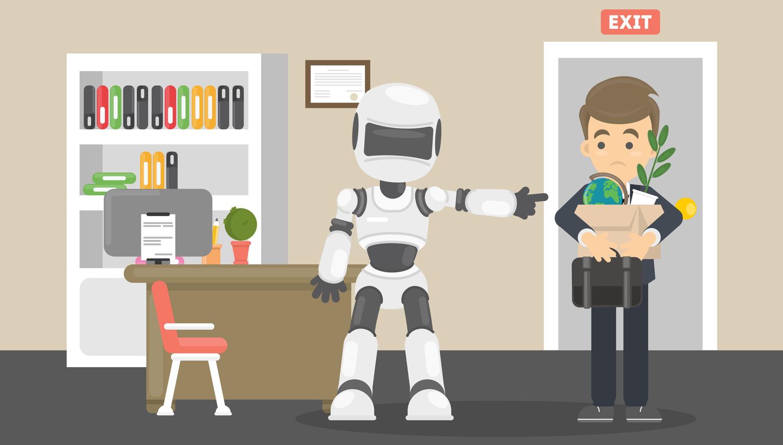 Bi raje videli, da vas zamenja robot ali človek?