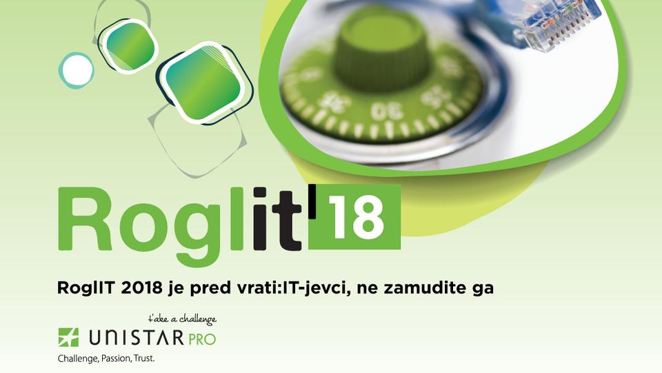RoglIT 2018 je pred vrati: IT-jevci, ne zamudite ga