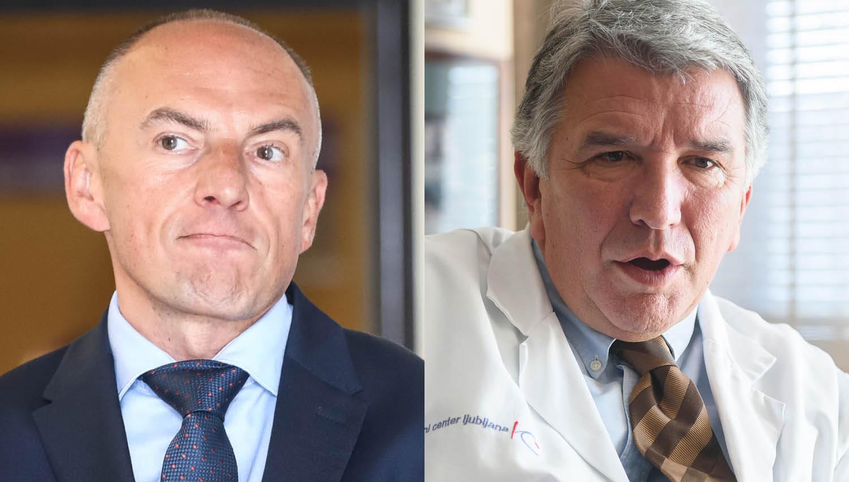 Nove težave za Šabedra v UKCL: glavni srčni kirurg Klokočovnik vendarle odhaja