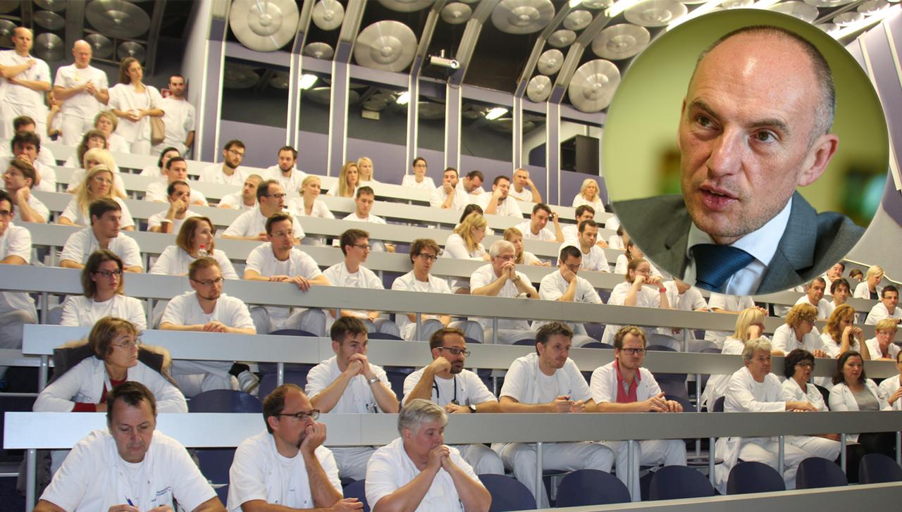 Direktor UKCL Šabeder zahteva več reda, dobil pa je grožnje s tožbami zaradi neplačanih nadur