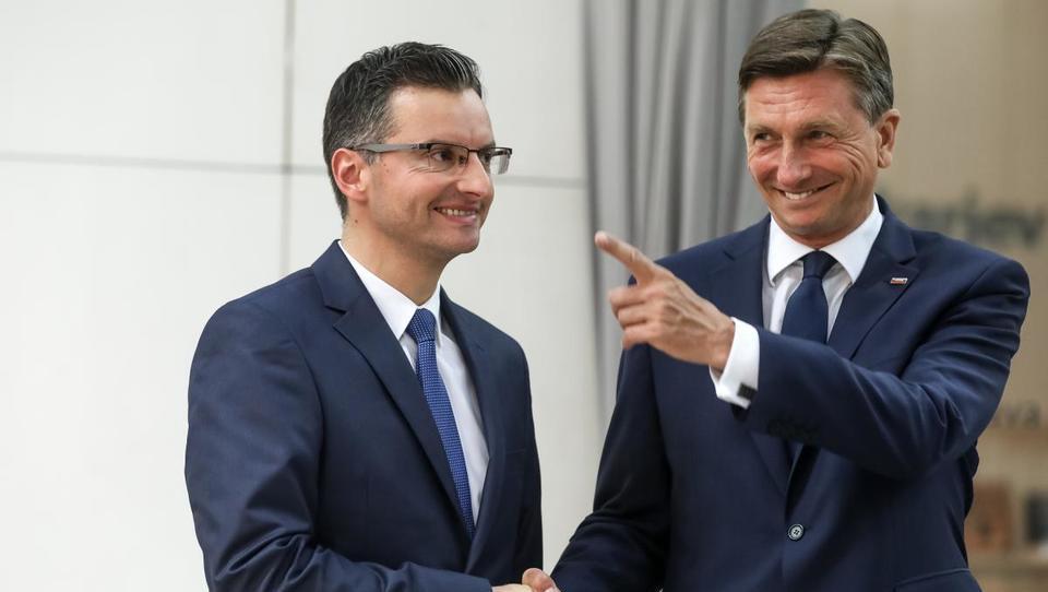 Pahor vs. Šarec: Kateri ima več pod palcem