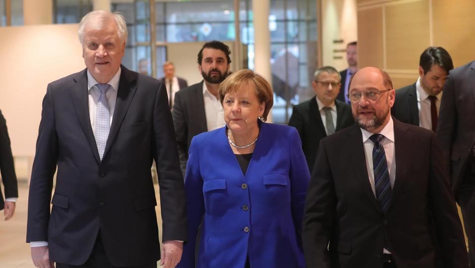 Nemška velika rdeče-črna vladna koalicija pod streho
