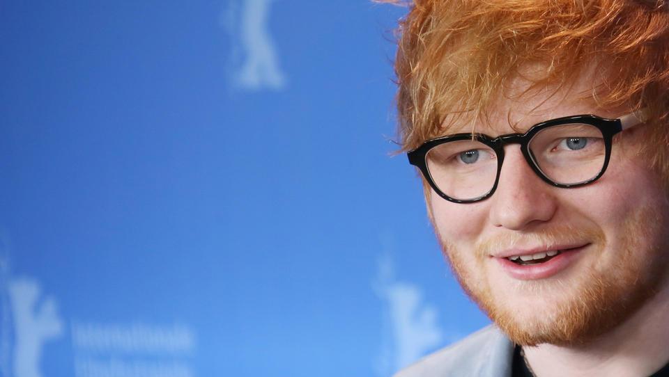 Založba Eda Sheerana na borzni oder po sveži milijardi
