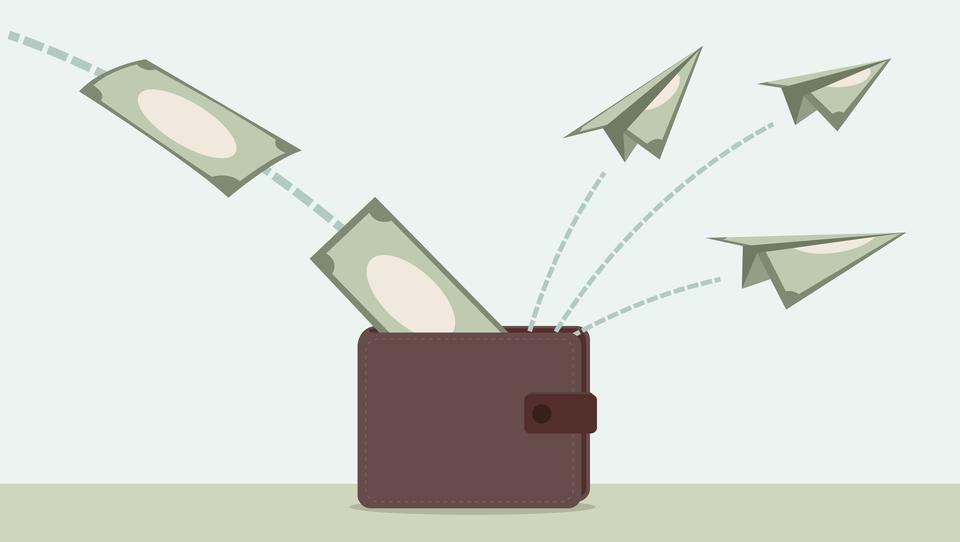 Vas boli, ko morate odpreti denarnico?