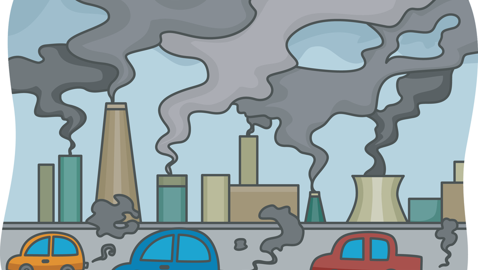 Onesnaženje zraka bolj kot na pljučne vpliva na srčno-žilne bolezni