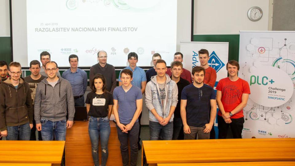 6 slovenskih študentov gre na regionalno inženirsko tekmovanje PLC+Challenge 2019