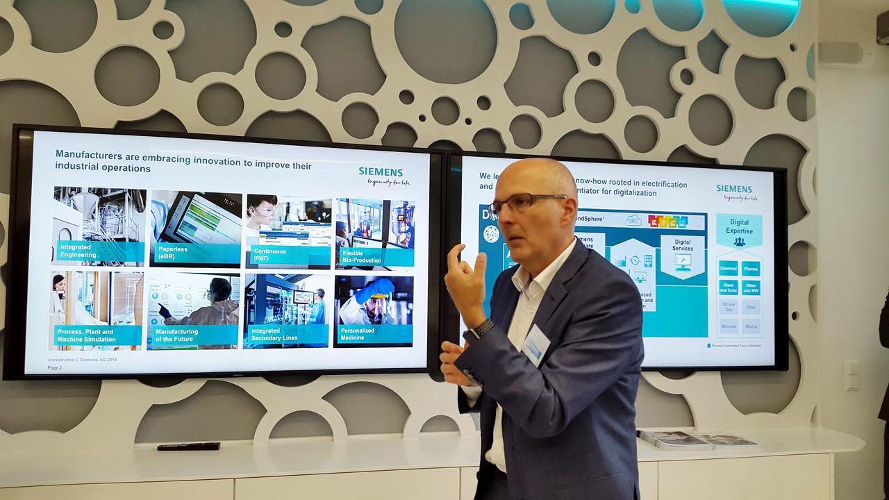 Siemens bo bolj stavil na procesno industrijo