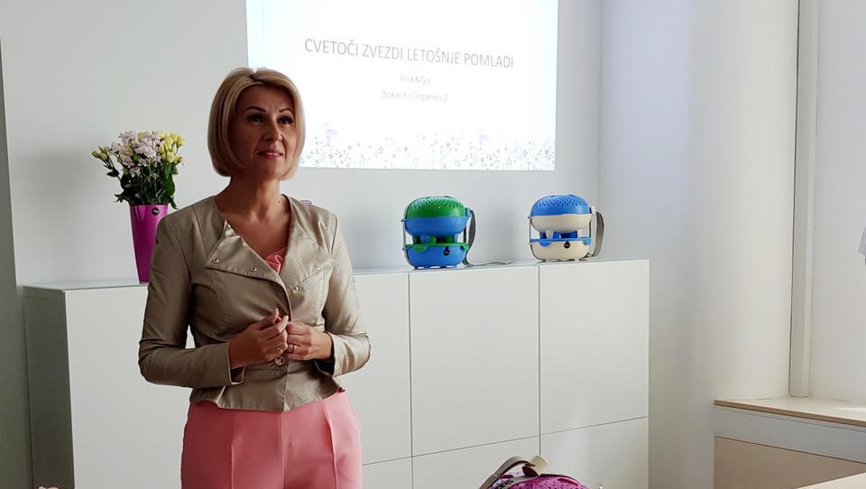 Tanja Skaza na Japonsko poslala prve komplete za piknik