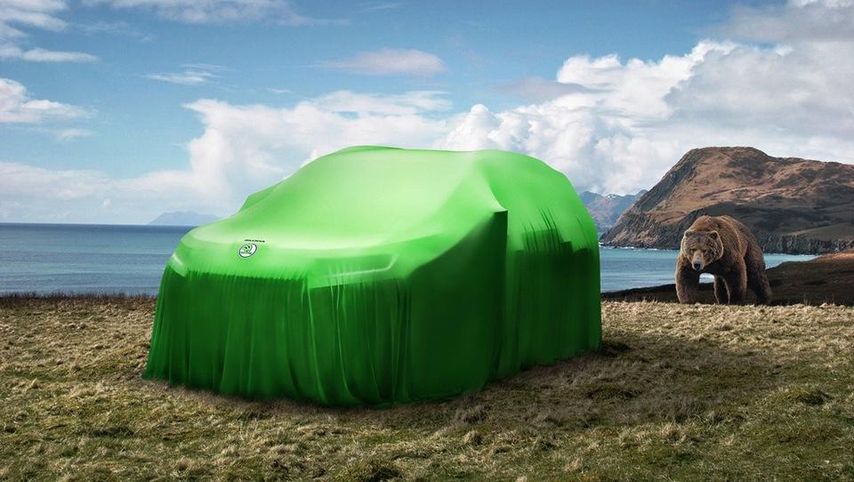 Škodin SUV je ime dobil po 400-kilogramskem medvedu