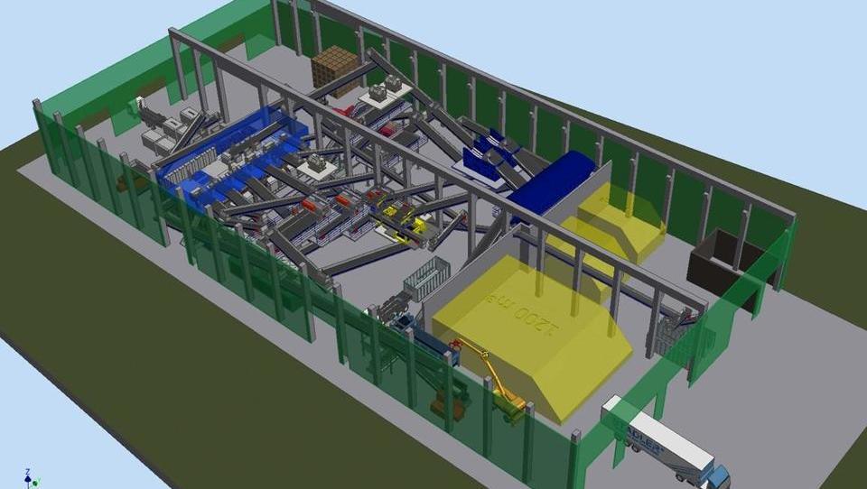 V Mariboru bodo zgradili sodobno sortirnico komunalnih odpadkov