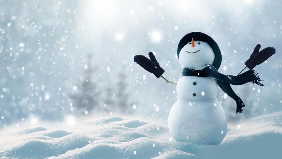 Accuweather: mraz in sneg bosta v drugi polovici zime