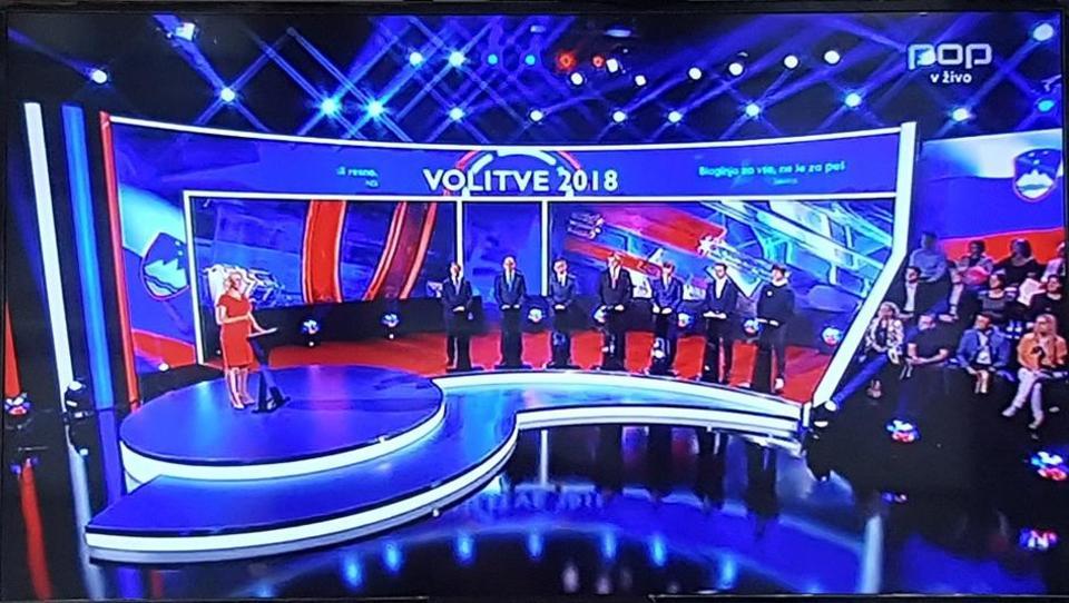 Predvolilno soočenje na POP tv: to so rekli prvaki strank