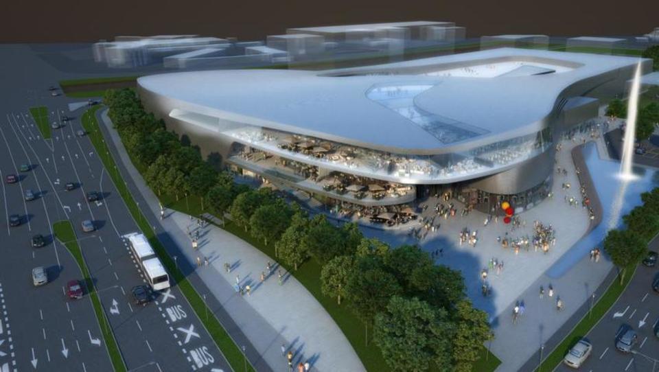 Sparov center v Šiški bodo začeli graditi prihodnji mesec