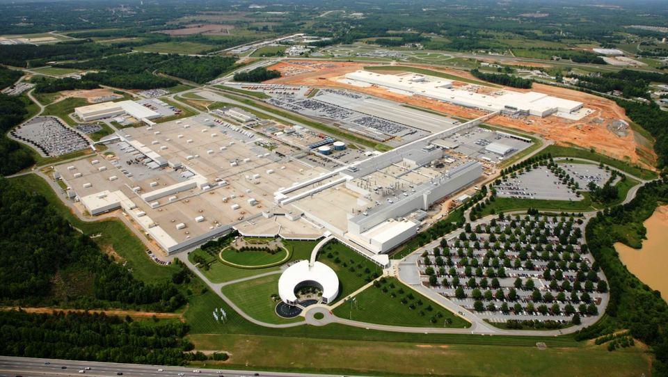 BMW center proizvodnje seli v ZDA