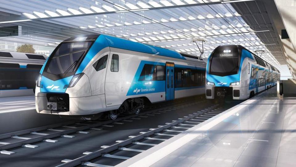Moderni vlaki na makadamu: naročili smo švicarske vlake. Kdaj se bomo vozili kot Švicarji?