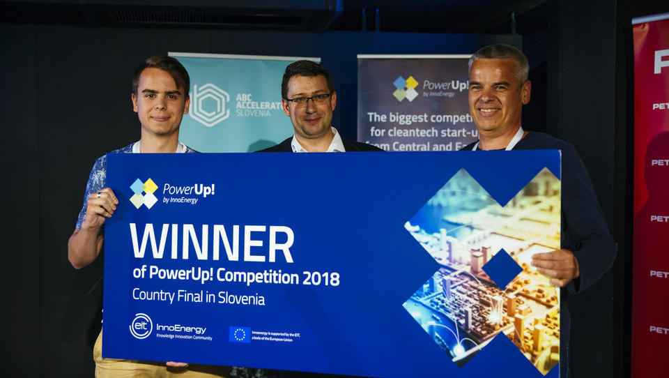 Izbran najboljši trajnostni start-up v Sloveniji