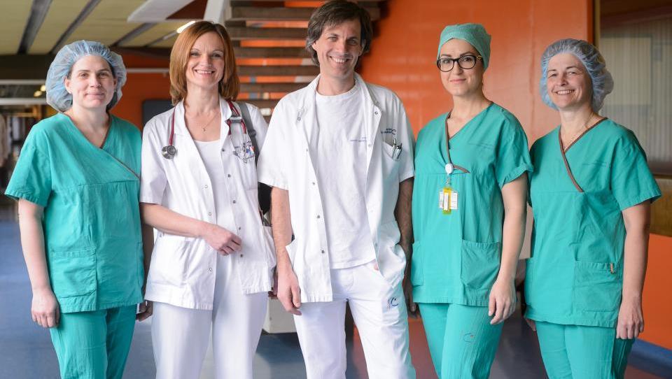Slovenski kirurgi med vodilnimi pri posegih VATS