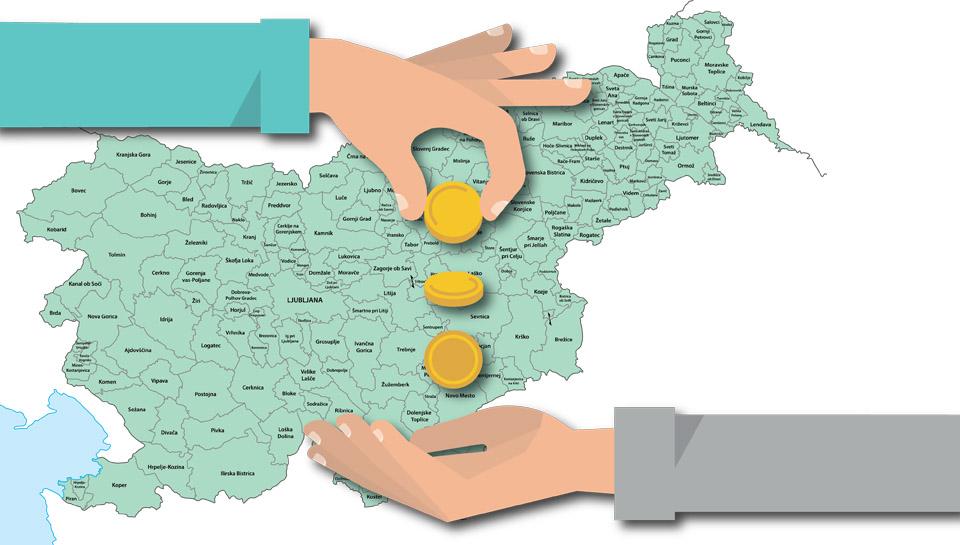 Leto pred lokalnimi volitvami se županom nasmihajo evropski milijoni - kako imate lahko od tega denarja nekaj tudi vi