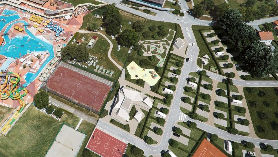 Terme Olimia odpirajo prvi petzvezdični kamp v kontinentalni Hrvaški