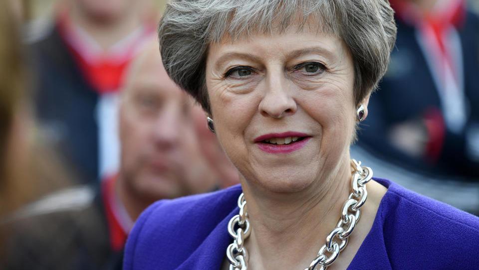 Šef parlamenta: Premierka Mayeva ne more še enkrat pred parlament z istim dogovorom