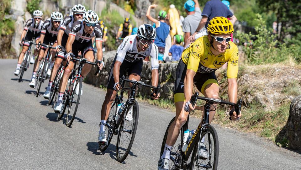 Unior opremil kolesarsko delavnico šampiona toura Gerainta Thomasa