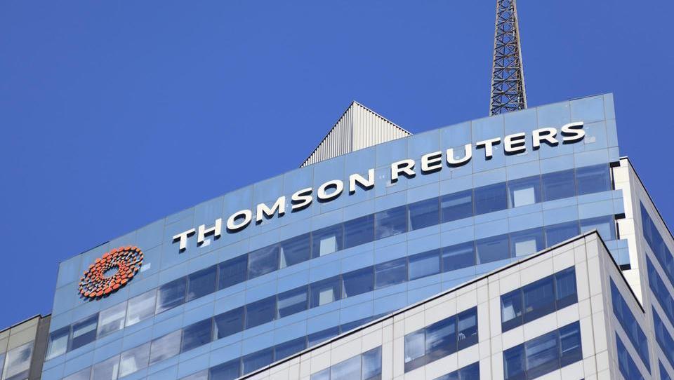 Thomson Reuters bo prodal 55 odstotkov divizije za finance in tveganja