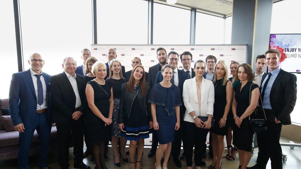 Mednarodna rast podjetja Mazars se nadaljuje z integracijo slovenskega podjetja MAZARS, d. o. o.