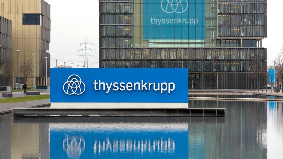 Zakaj je delnica družbe Thyssenkrupp poskočila za več kot deset odstotkov