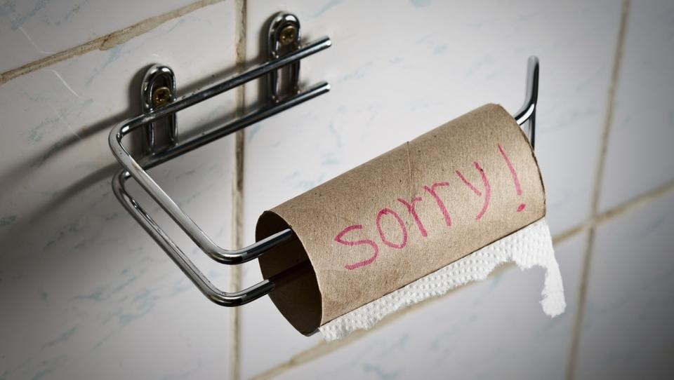 Težave podjetij pri nabavi toaletnega papirja