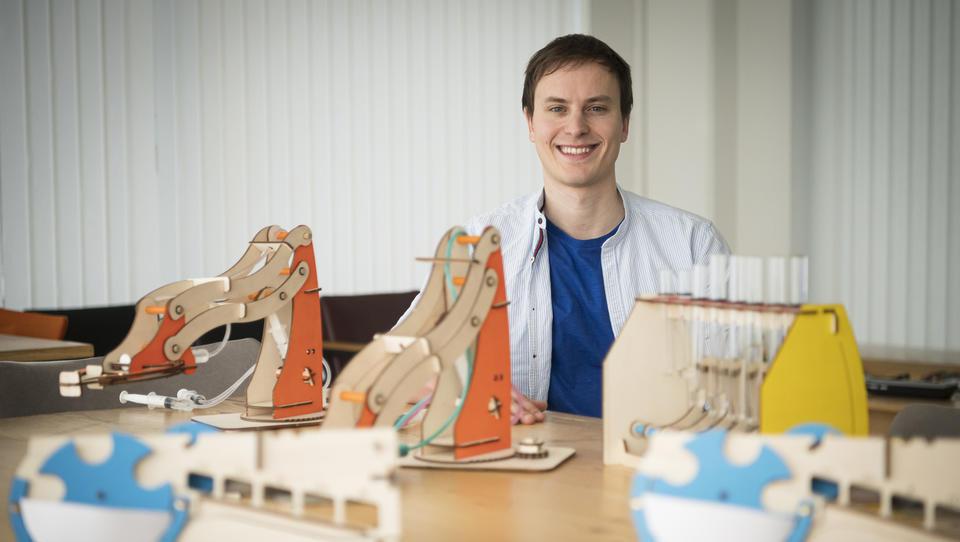 Najpodjetniška ideja: Ljubljanski startup izdeluje igrače, ob katerih se otroci učijo fizike