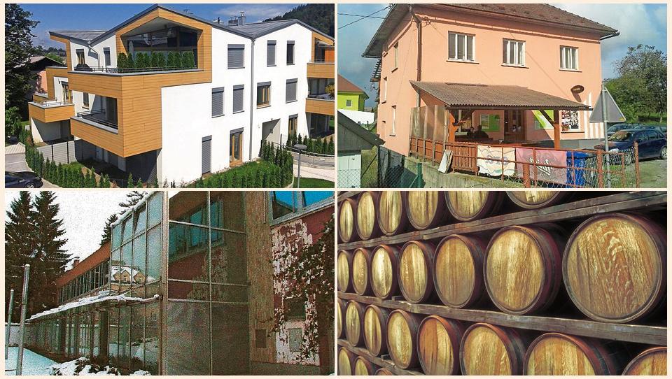 TOP dražbe: Stanovanja v Dolu pri Ljubljani in Portorožu, poslovna stavba v Ljubljani, zaloge vina,...