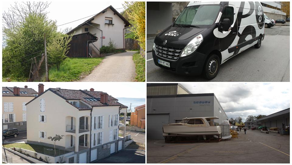 TOP dražbe: Apartmaji pri Ankaranu, stanovanje v Ljubljani, kombiji, hiša v okolici Novega mesta,…