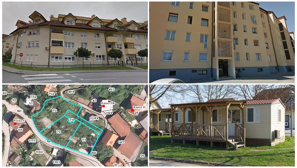 TOP dražbe: Dvosobno stanovanje na Vrhniki, garsonjera v Mariboru, mobilne hiše, polovica dvojčka, …