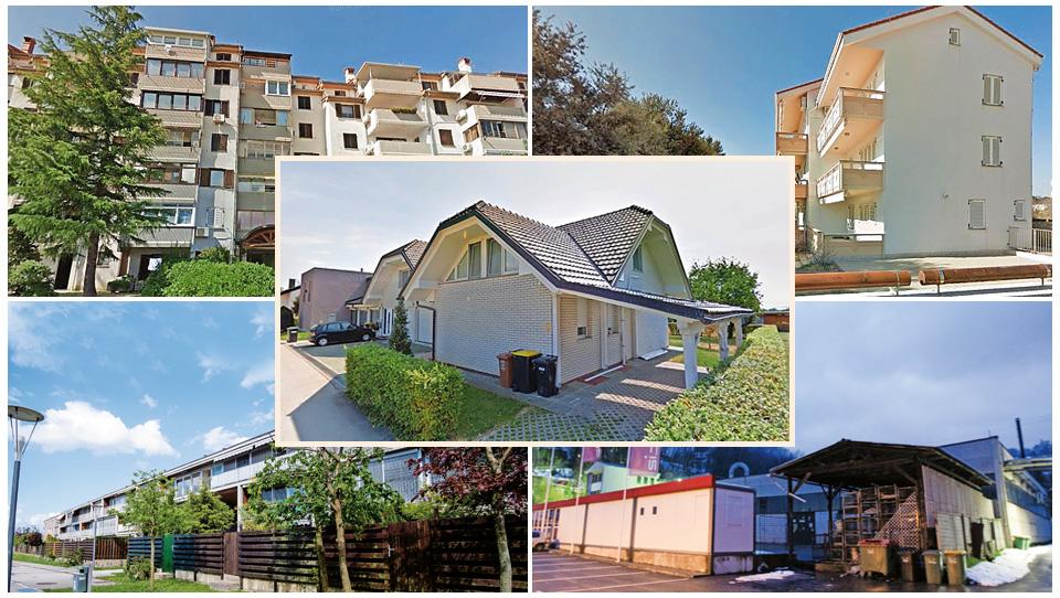 TOP dražbe: Stanovanji v Ljubljani in Ankaranu, hiša v Kamniku, apartma na Pagu, tovarna Sijaja Hrastnik