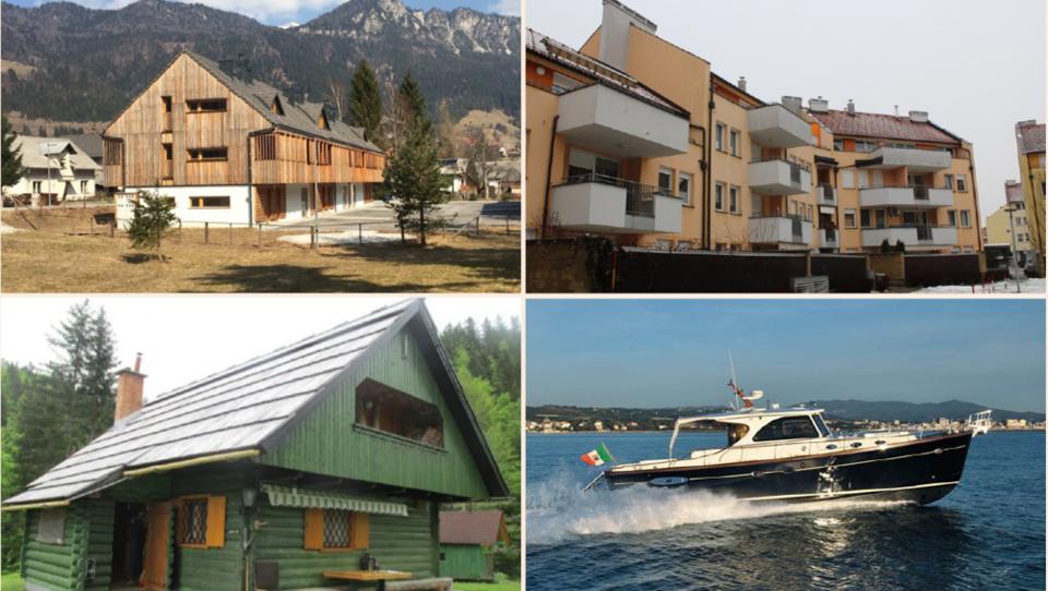 TOP dražbe: Jahta, apartmaji v Mojstrani in Bohinju, stanovanji v Mariboru in Grosupljem