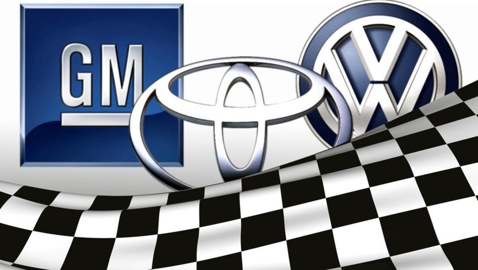 Toyota povečala prednost pred VW in GM