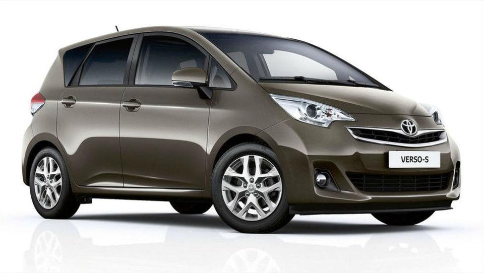 Toyota v prenovo modela verso-S
