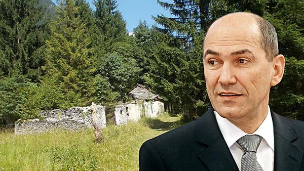Koliko je vredna nekdanja zemlja Janeza Janše v Trenti? To bo pokazal trg