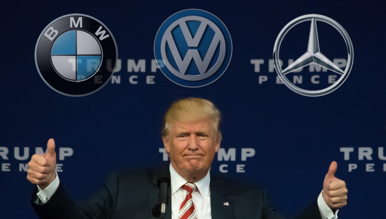 Zbliževanje Trumpa in nemških avtomobilskih velikanov