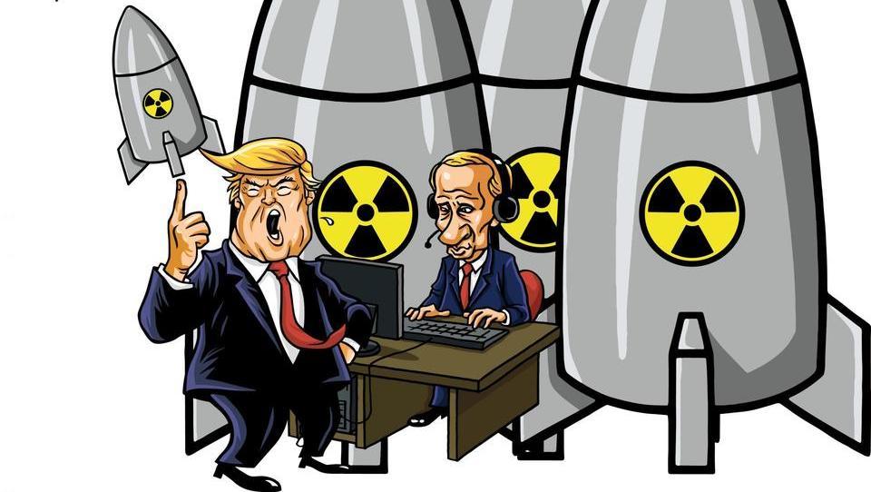 S Putinom in Trumpom za krmilom se vrača nevarnost jedrske vojne