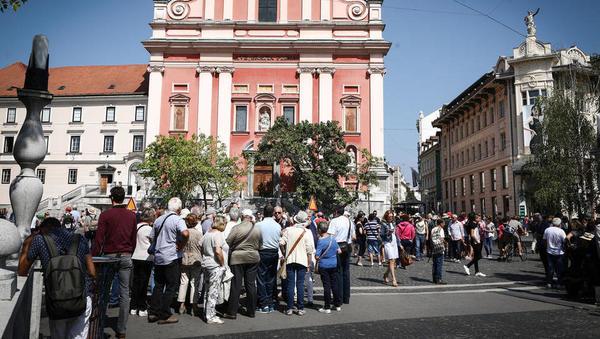 V Ljubljani ta teden ni prostih hotelskih sob – vendar pa boste težko našli srečnega hotelirja
