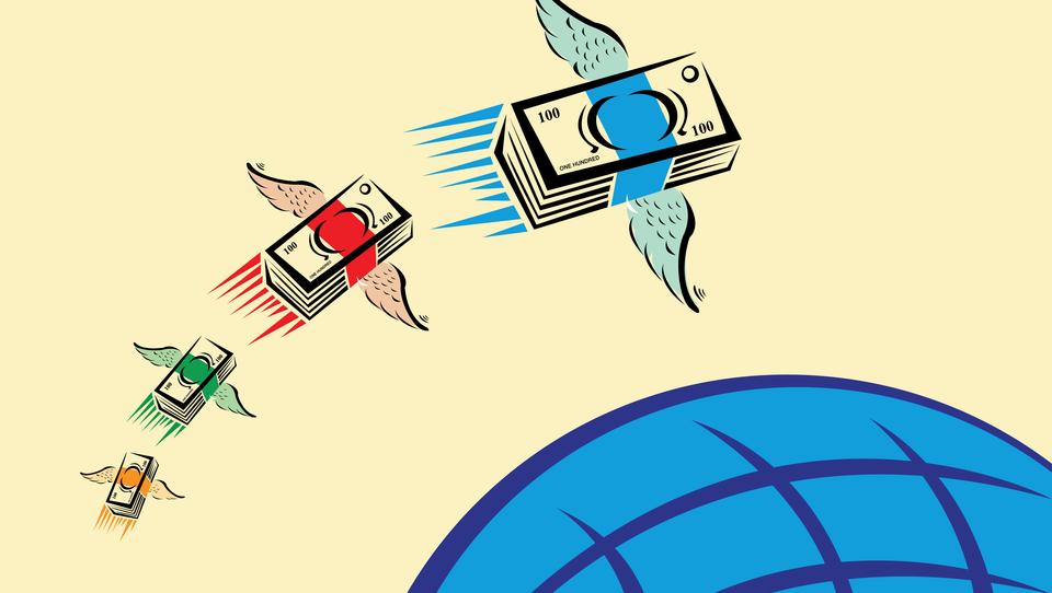 Kam letijo rekordne milijarde bolj drznih vlagateljev