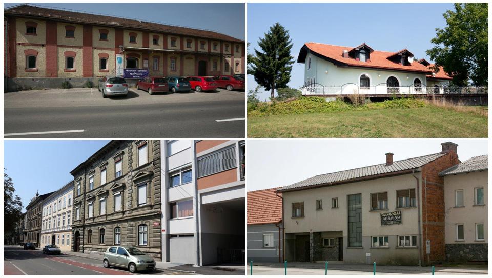 Spletne dražbe Unija: stanovanje v Mariboru ter hiše in poslovni prostori v Prekmurju