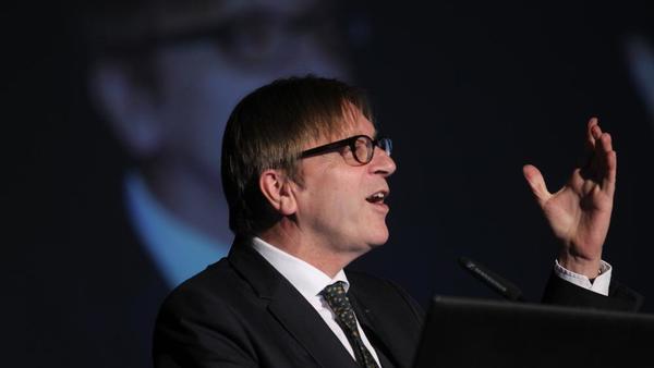 Guy Verhofstadt na PKP: Odločitev ne smemo sprejemati na podlagi strahu, temveč ambicij