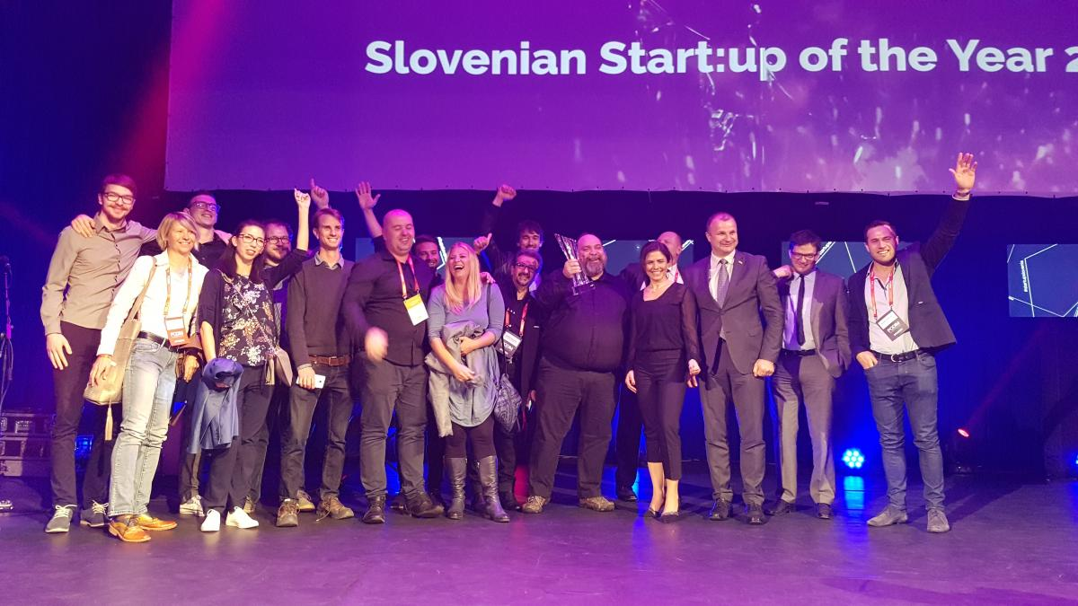 Celjski Viar je slovenski start-up leta
